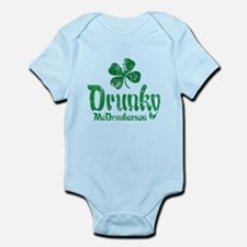 Drunky McD Infant Bodysuit