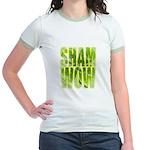 shamwow2-faded Jr. Ringer T-Shirt