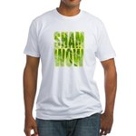 shamwow2-faded Fitted T-Shirt