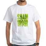 shamwow2-faded White T-Shirt