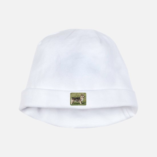 Swedish Vallhund 9Y767D-057 baby hat