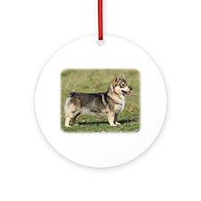 Swedish Vallhund 9Y767D-057 Ornament (Round)