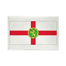 Alderney Flag Rectangle Magnet (10 pack)
