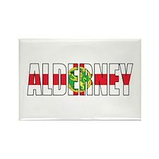 Alderney Rectangle Magnet (10 pack)