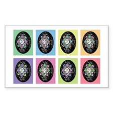 Pop Art Pysanka Decal