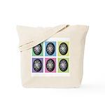 Pop Art Pysanka Tote Bag