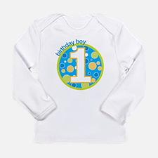 birthday boy one Long Sleeve T-Shirt