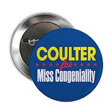 Miss Congeniality Button