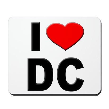 I Heart DC Mousepad
