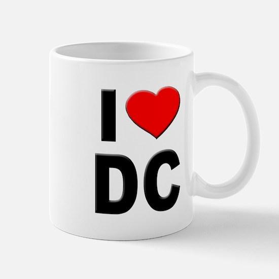 I Heart DC Mug