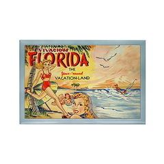 Vintage Florida Fridge Magnet