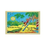 Funny Florida Fridge Magnet