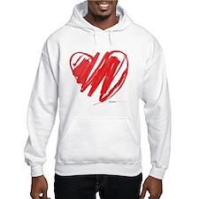 Crayon Heart Hoodie