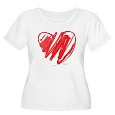 Crayon Heart T-Shirt
