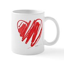 Crayon Heart Mug
