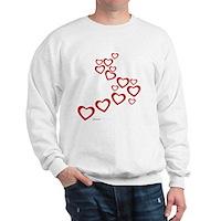 Falling Hearts Sweatshirt