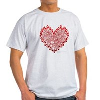 Heart Circles Light T-Shirt