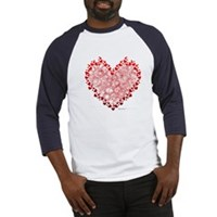Heart Circles Baseball Jersey