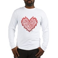 Heart Circles Long Sleeve T-Shirt