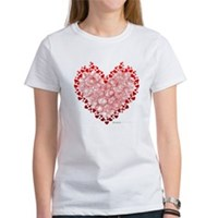 Heart Circles Women's T-Shirt