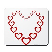 Heart Of Hearts Mousepad