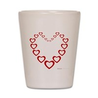 Heart Of Hearts Shot Glass