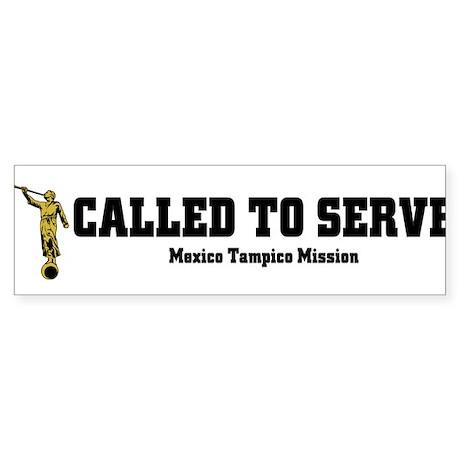 Mexico Tampico LDS Mission Ca Sticker (Bumper)