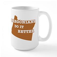 Oregonians Do It Better Mug