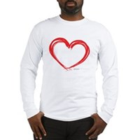 Heart Lines Long Sleeve T-Shirt