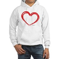 Heart Lines Hooded Sweatshirt
