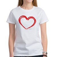 Heart Lines Women's T-Shirt