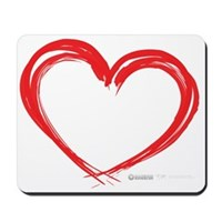 Heart Lines Mousepad