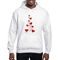 Heart Tree Hooded Sweatshirt