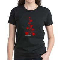 Heart Tree Women's Dark T-Shirt