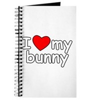 I Love My Bunny Journal