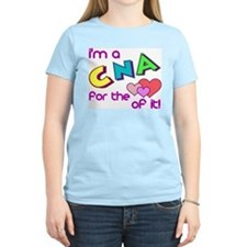 I'm A CNA For The Love Of It Women's Pink T-Shirt