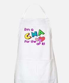 I'm A CNA For The Love Of It BBQ Apron