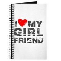 Vintage I Love My Girlfriend Journal
