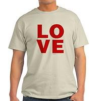 Red Love Light T-Shirt