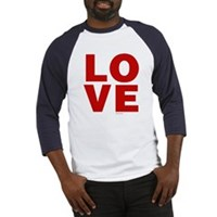 Red Love Baseball Jersey
