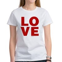 Red Love Women's T-Shirt