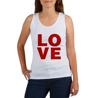 Red Love Women's Tank Top