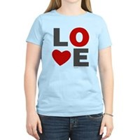 Love Heart Women's Light T-Shirt