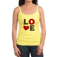 Love Heart Jr. Spaghetti Tank