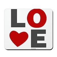 Love Heart Mousepad