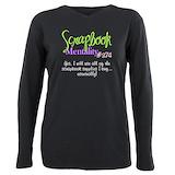 Scrapbooking Long Sleeves