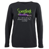 Scrapbooking Plus Size Long Sleeves