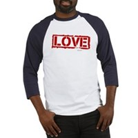 Love Stamp Baseball Jersey