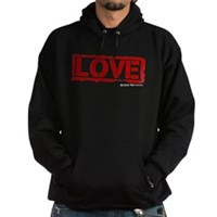 Love Stamp Hoodie (dark)