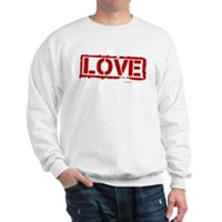 Love Stamp Sweatshirt